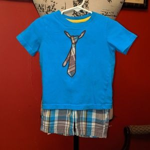 🦠3 for $8🦠 Jumping Beans t-shirt & shorts set